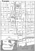 Downtown Bahías de Huatulco Map Oaxaca, Mexico