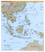 Hoja Fukuoka del Mapa Topográfico de Japón 1954