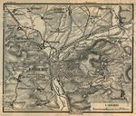 Environs of Coburg Map, Germany 1910
