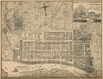 Plano de la Ciudad y del Puerto de Savannah en el Condado de Chatham, Estado de Georgia, Estados Unidos A.D. 1818