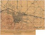 Mapa Topográfico de la Ciudad de Helena, Montana, Estados Unidos 1899