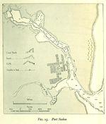 Port Sudan Map, Sudan 1946