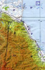 Vista satelital de las Islas Columbretes 2006