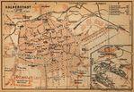 Mapa del Recorrido de la Batalla, Parque Militar Nacional Vicksburg, Misisipi, Estados Unidos