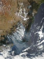 Incendios en el sureste de Australia