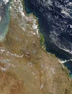 Fires in Northeastern Australia