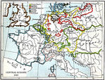 Europa Central 1780 A.D.