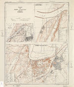 Mapa de la Ciudad de Carmen de Areco, Prov. Buenos Aires, Argentina