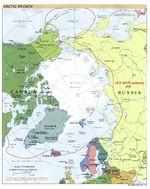 Arctic political map 2001