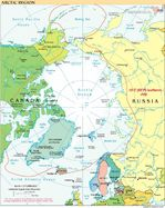 Arctic political map 1999