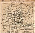 Waterloo Campaign Map, June 16 - 18, 1815