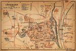 Mapa de Luneburgo, Alemania 1910