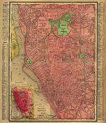 Xochimilco Borough Location Map, Mexico City