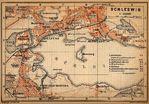 Mapa de Schleswig, Alemania 1910