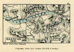 Mapa de Glencoe, Escocia 1691