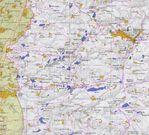 Mapa de Cisjordania (Nablus y Oeste)