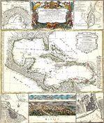 Mapa del Monumento Marino Nacional de Papahanaumokuakea, Islas Midway, Estados Unidos