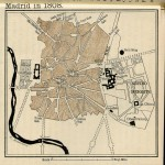 Madrid street map 1808