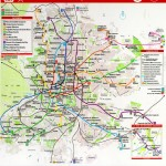 Map of North Rhine-Westphalia 2007