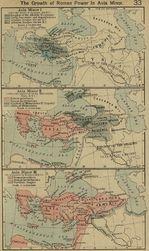 Crecimiento del poder de Roma en Asia Minor