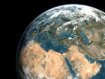 Middle East seen from space