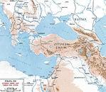Mapa de Constantinopla (Estambul) 1882