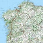 Mapa de carreteras de Galicia