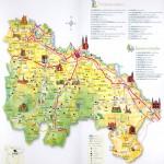 La Rioja tourist map