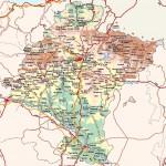 Mapa de Navarra