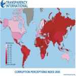 Corruption in the world 2005