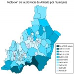 Population of province of Almeria 2007