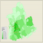 Population of the province of Seville 2007