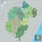 Mapa del Sur de la Ciudad de Esteli, Nicaragua