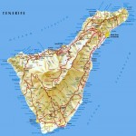 Tenerife Island road map