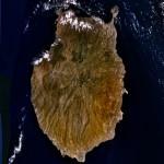 Imagen, foto satelite de la Isla Gran Canaria