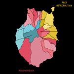 Municipalities of Gran Canaria Island 2007