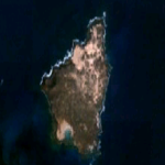 Satellite Image, Photo of Caroní River and Guri Reservoir, Venezuela