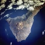 Imagen, Foto Satelite de la Isla de Tenerife