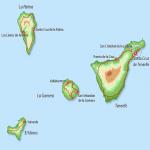 Province of Santa Cruz de Tenerife map