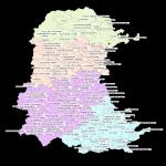 Municipios con ayuntamiento de la Provincia de Palencia 2007