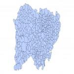 Municipios de la Provincia de Salamanca 2003