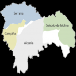 Comarcas of the Province of Guadalajara