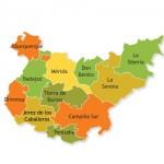 Comarcas de la Provincia de Badajoz