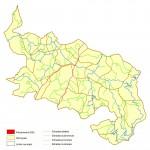 Southern France (before floods, false color)
