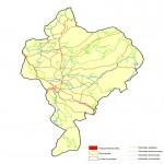 Mapa de la Ciudad de Benidorm, España
