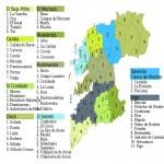 Mapa municipal de la Provincia de Pontevedra 2003
