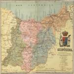 Mapa de Guipúzcoa