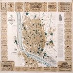 Industrial and commercial map of Seville 1883