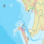 Mapa del puerto de Cádiz
