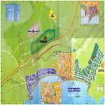 Benidorm tourist map
